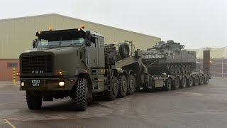 HETS Heavy Equipment Transporter System тягач для перевозки тяжелого оборудования