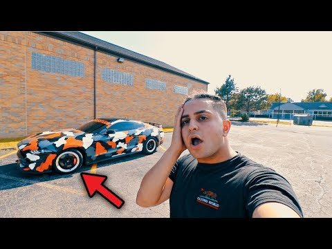 I LET MY GIRL FRIEND BORROW MY CAR & SHE RUINED MY WHEELS!