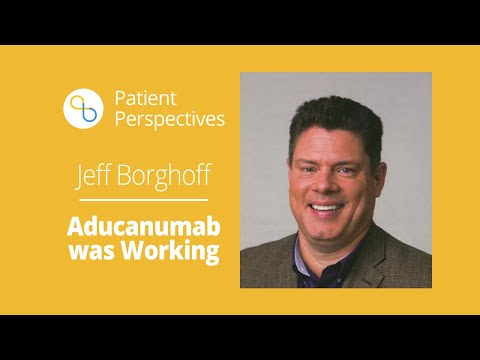 Clinical Trial Participant 'Biogen's Aducanumab Was Working' | Patient Perspectives | Being Patient