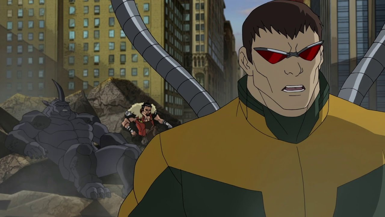 ultimate spider man vs the sinister 6 — season 4 ep 26 / Великий
