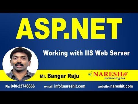 Working with IIS Web Server in ASP.NET   ASP.NET Tutorials   By Mr.Bangar Raju