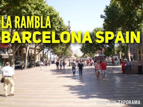 BARCELONA La Rambla Travel Guide 2017 Must See & Do