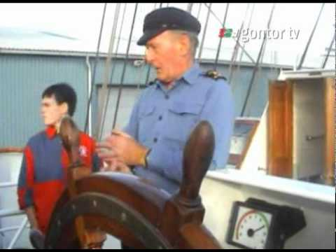 Voyage to UK, France, Belgium - Day 2 - Learning to steer the ship