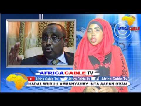 QODOBADA WARKA AFRICA CABLE TV BY XAAWOLADAN DAA UUD NUUR JOWHAR 26 5 17