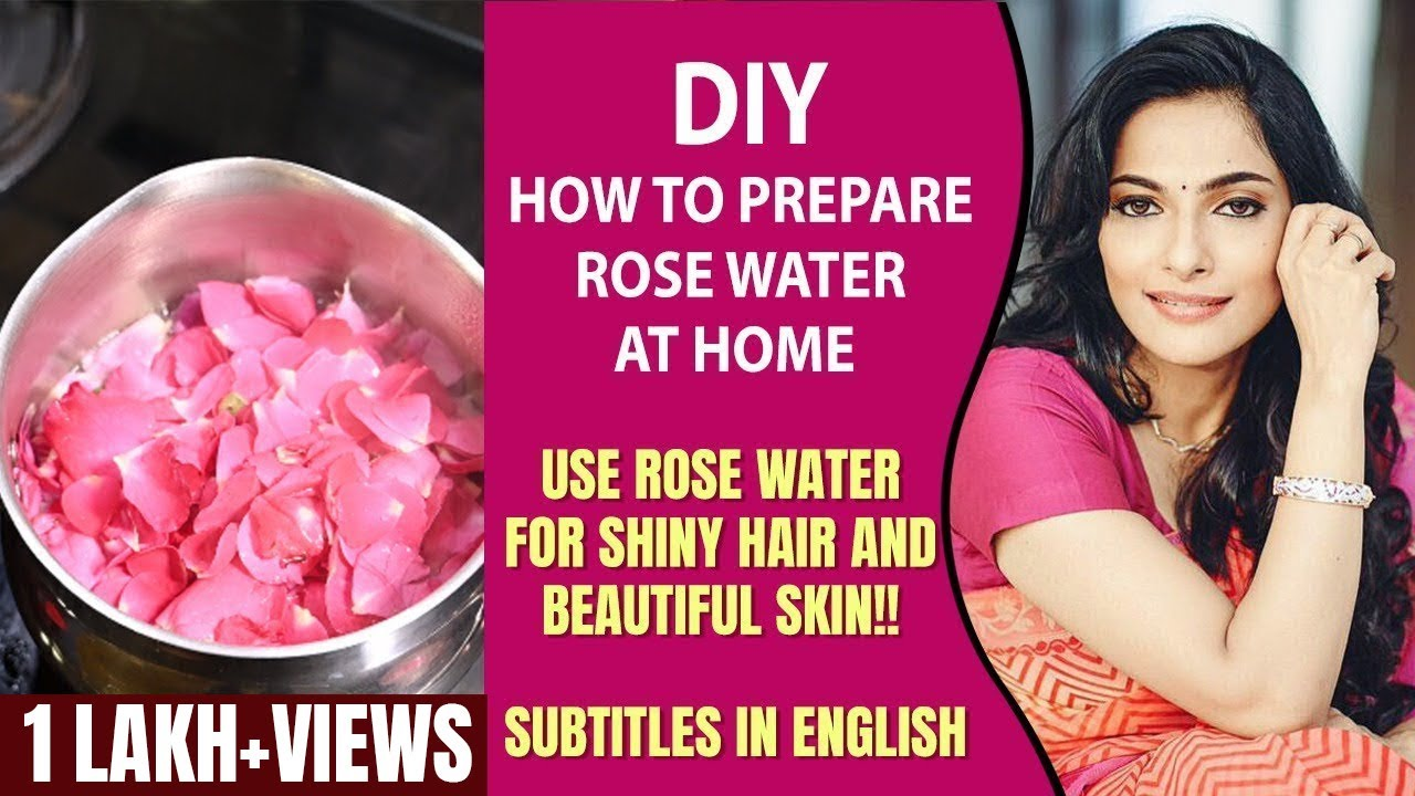 DIY: How to Prepare Rose Water at Home | Use Rose Water for Shiny Hair and Beautiful Skin