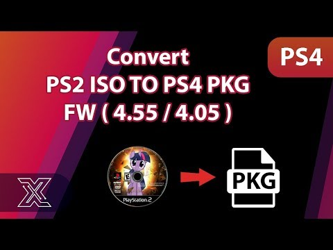 Convert PS2 ISO TO PS4 PKG 4 55 / 4 05 - YouTube