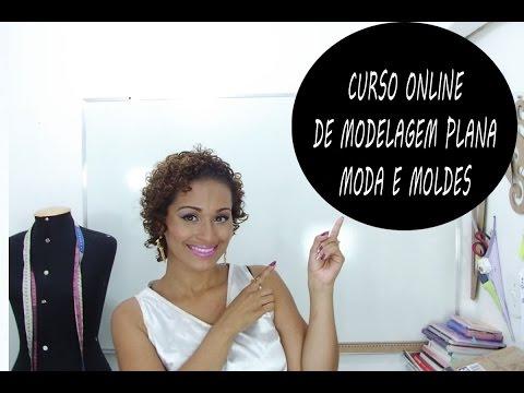 Curso Online de Modelagem Plana Moda e Moldes