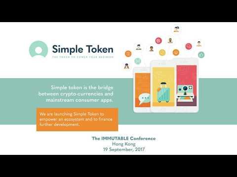 Simple Token CEO Jason Goldberg @ Immutable Blockchain Summit 2017, Hong Kong