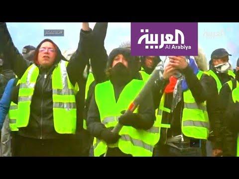تفاعلكم : صور صادمة من باريس تكشف العنف ضد متظاهرين