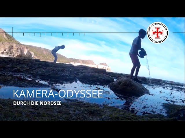 Kamera-Odyssee durch die Nordsee
