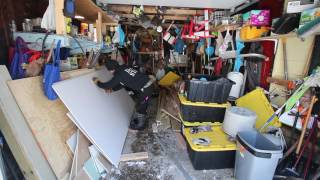 Common Site issues after renovation with Steve and Alec Cutting Drywall Method 2
