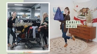 Thrift With Me For Fall Shoes & Accessories, New & Vintage! Vlog & Try-On | Alli Cherry