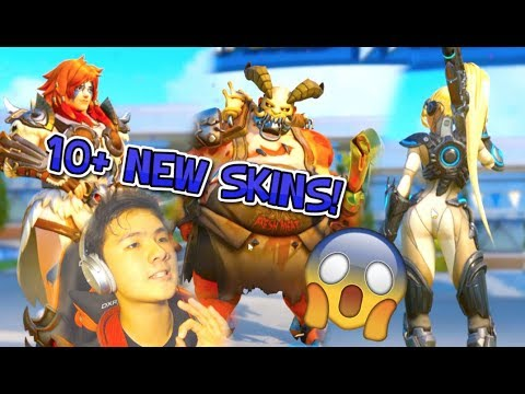 ALL NEW LEGENDARY SKINS! | OPENING 69 LOOT BOXES | Overwatch NEW Update!