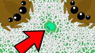 MOPE.IO BIGGEST FAIL EVER!! // Giant Spider Web Dragon Troll (Mope.io Funny Moments)