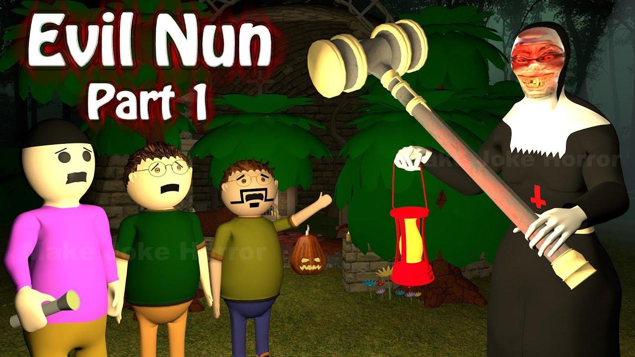 Evil Nun Horror Story Part 1 | Apk Android Game | Horror Movies 2020 | Make Joke Horror