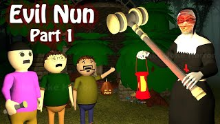 Evil Nun Part 1 | Apk Android Game Horror Story | Horror Movies 2020 | Make Joke Horror