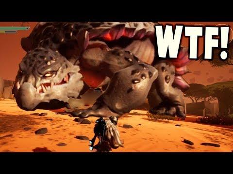 Dauntless - GIANT FIRE BREATHING DINOSAUR MONSTER - (3) Dauntless Gameplay