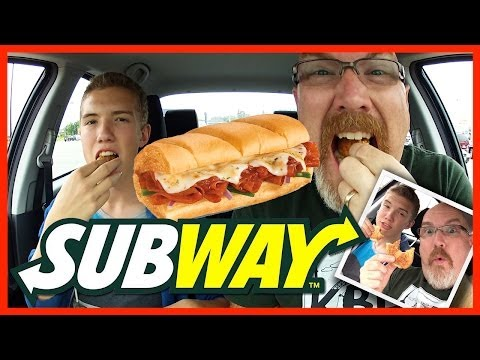 Subway ♥ Pizza Sub Review with Guest Host Ben Domik | KBDProductionsTV