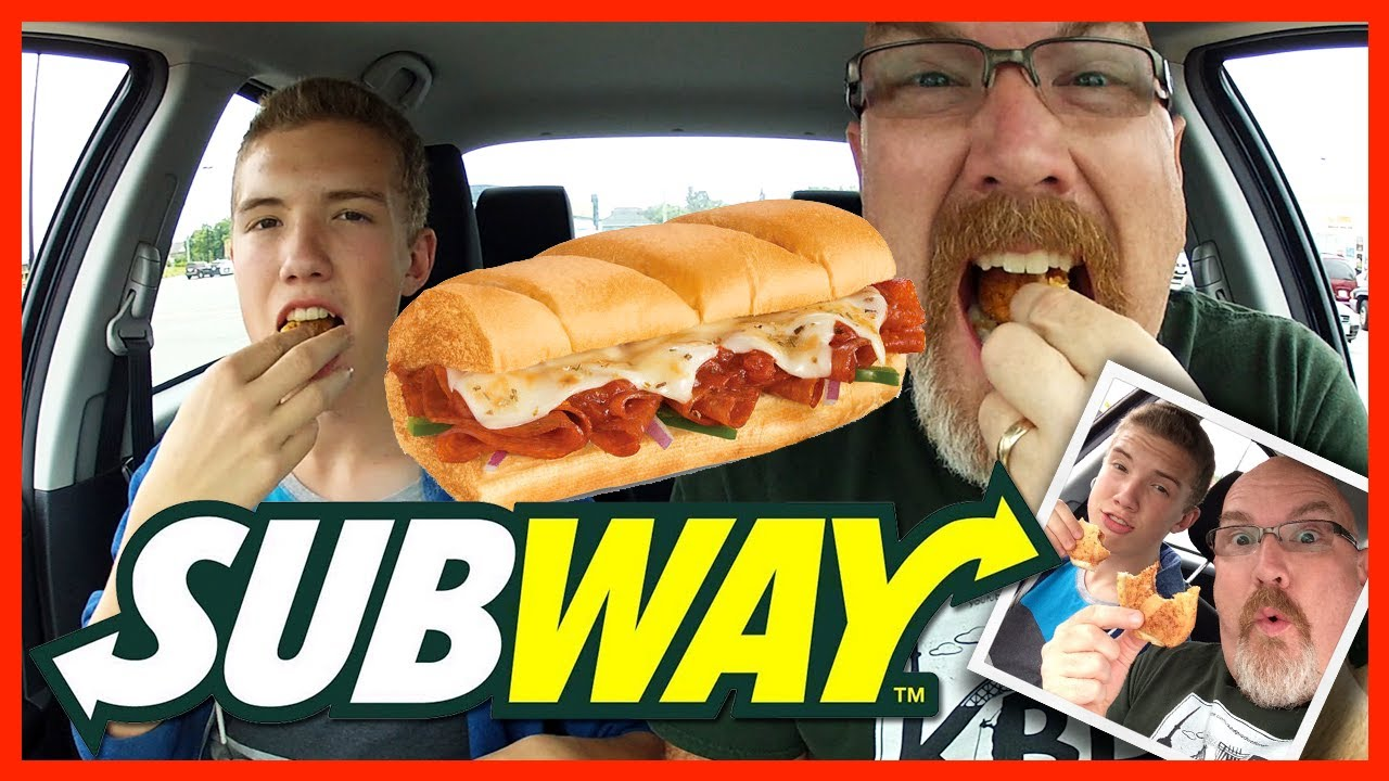 Subway ♥ Pizza Sub Review with Guest Host Ben Domik