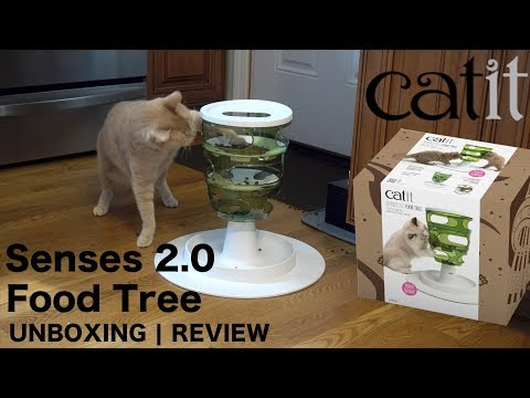Catit Senses 2.0 Food Tree | UNBOXING | Review