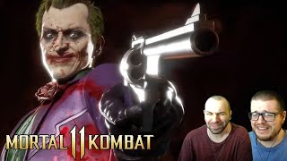 The Joker Official Gameplay Trailer Reaction - Mortal Kombat 11
