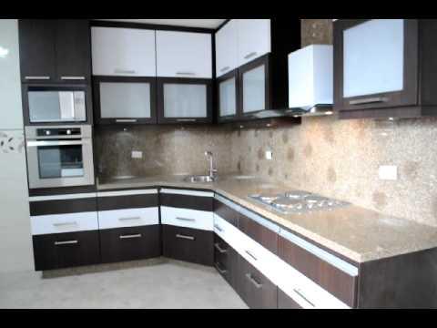 Cocina modelo franja continua youtube - Muebles de cocina color wengue ...