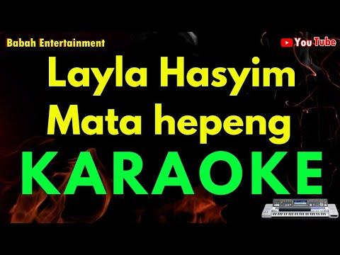 Karaoke No vocal Layla Hasyim Mata hepeng  ( TAPSEL ) | KN2600 | Cover Keyboard