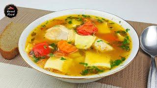Суп получается просто великолепным! Простой и очень вкусный рецепт первого блюда!