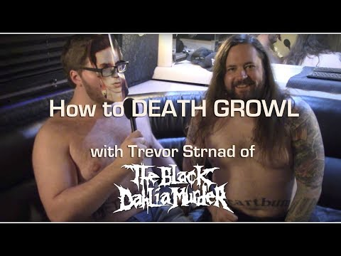 How to Death Growl with THE BLACK DAHLIA MURDER's Trevor Strnad | MetalSucks