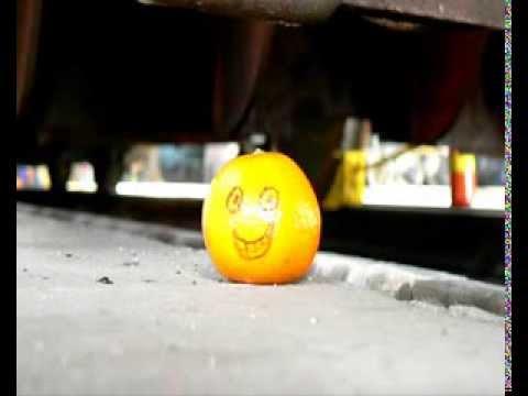 Presse orange hydraulique
