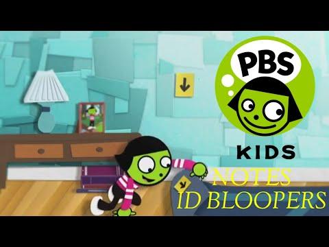 PBS KIDS NOTES ID BLOOPERS (MY VERSION)