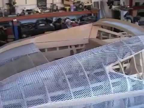 Ford GT90 Replica Built From Scratch. kasin car