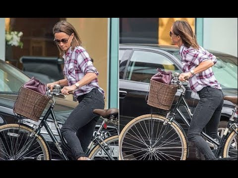 Pippa Middleton unveils her new bobbed hairdo on a shopping trip in London