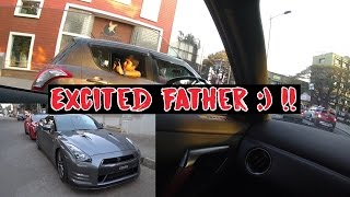 Excited Father & Kid React to Supercars | Drive in Porsche & GTR | #117