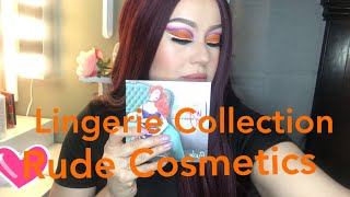 Reseña de Lingerie collection Naughty Nights de Rude Cosmetics!