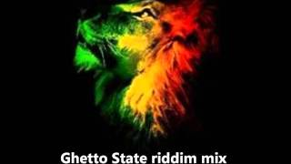 Ghetto State Riddim Mix ( Maximum Sound Production ) January 2012 Riddim Mix Roots Reggae Ragga