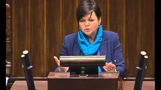 Izabela Leszczyna - wystąpienie z 8 października 2015 r.