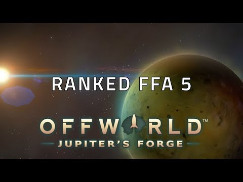 Ranked FFA 5: Offworld Trading Company Multiplayer