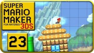 Let's Play SUPER MARIO MAKER for 3DS Part 23: Speedrun-Attitüde in Welt 15