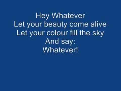 westlife- Hey whatever lyrics