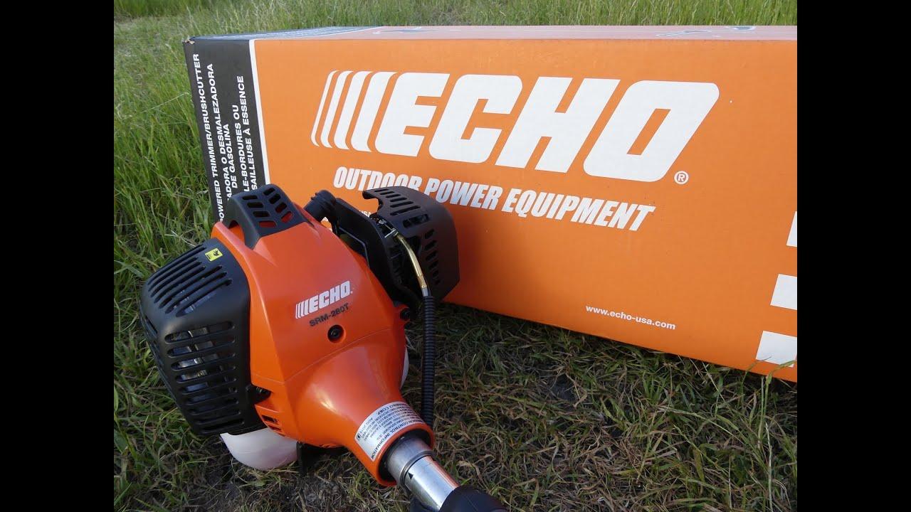 how to start echo weed wacker