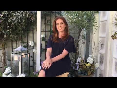Rebecca Mader live at the Home and Family  on Hallmark Channel