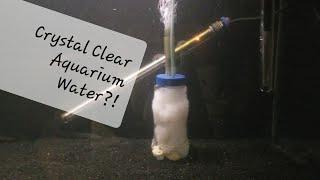 DIY Aquarium Filter / Water Polisher !!