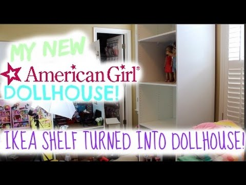 my new american girl dollhouse! - youtube