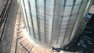 SCAFCO Grain Systems Silo Installation