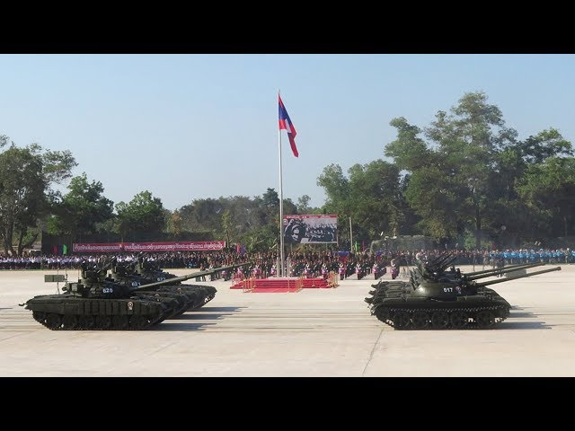 Laos celebrates founding anniversary of the Lao People's Armed Forces