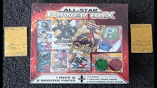 Opening A OLD ALL STAR Mystery Power Box!!