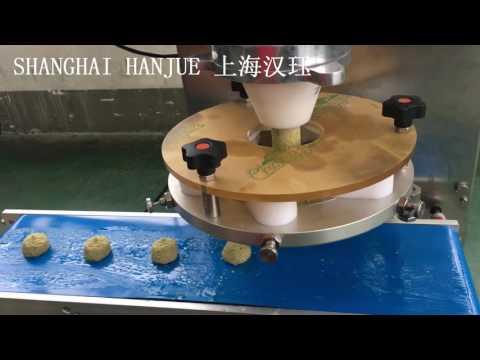 Falafel making machine/encrusting machine