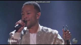 john legend performance 2016 american music awards amas