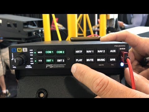 PS Engineering Slide-and-Fly Audio Panel